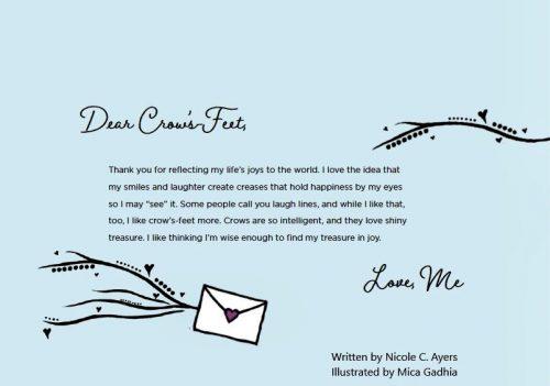 Dear Crow's Feet